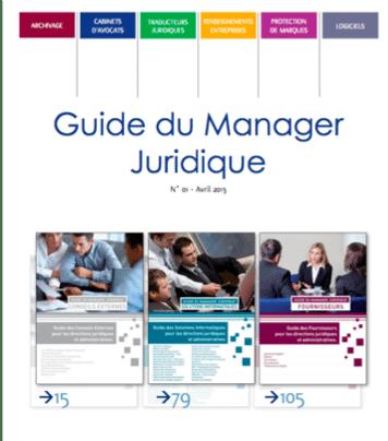Guide du Manager Juridique